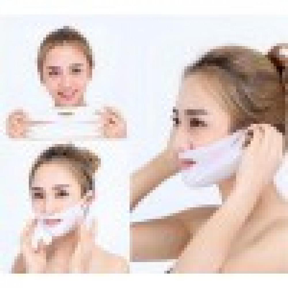 4D маска для V образной подтяжки лица и разглаживания кожи над верхней губой
